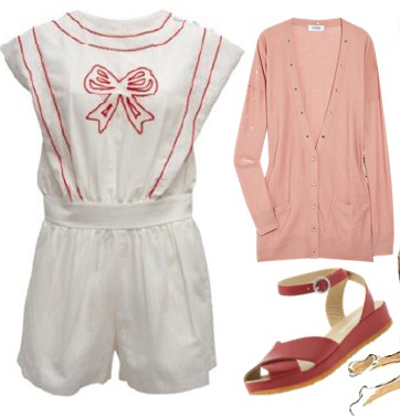 20s romper playsuit retro fashion