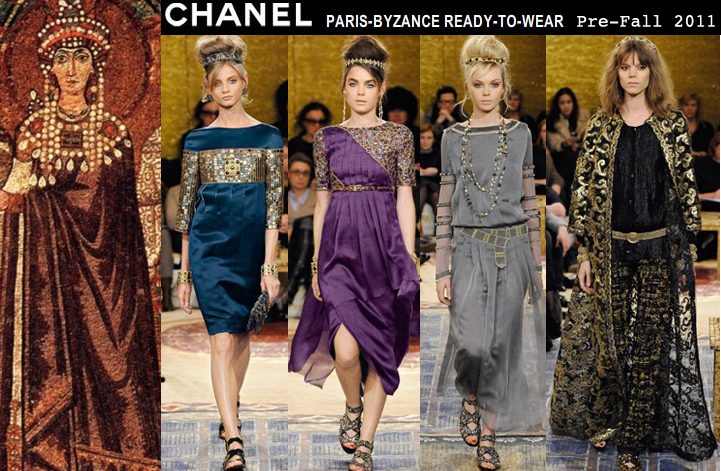 Chanel pre fall 2011 empress theodora