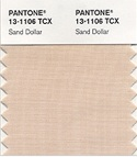 Pantone color of the year 2006 sand dollar beige taupe