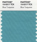 Pantone color of the year 2005 soft blue turquoise