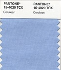 Pantone color of the year 2000 cerulean blue
