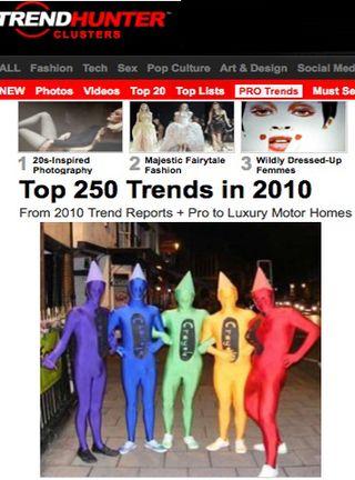 Trendhunter 2011 top trends