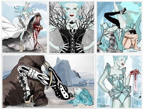 Madonna snow queen leonid gurevich
