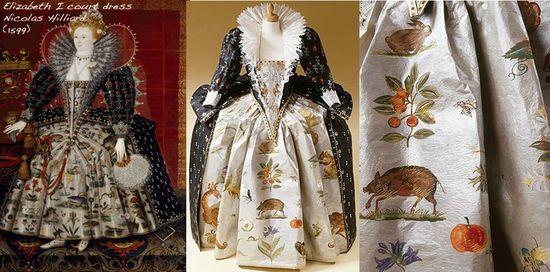 Paper fashion elizabeth I