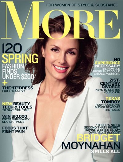 Bridget moynahan more magazine cover