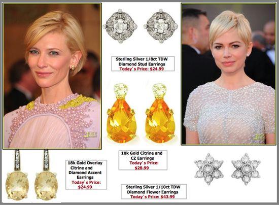 Cate blanchett 2011 oscars fashion jewelry jewellery