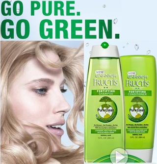 Garnier go green