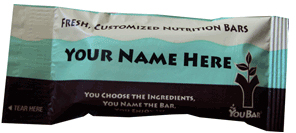 You bar customizable custom energy protein bar
