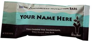 You bar customizable custom energy protein bar