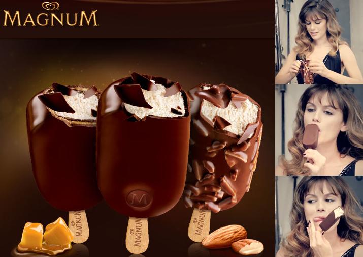 Magnum ice cream bars rachel bilson