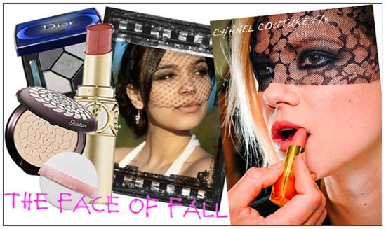 Fall runway beauty makeup trends 2011