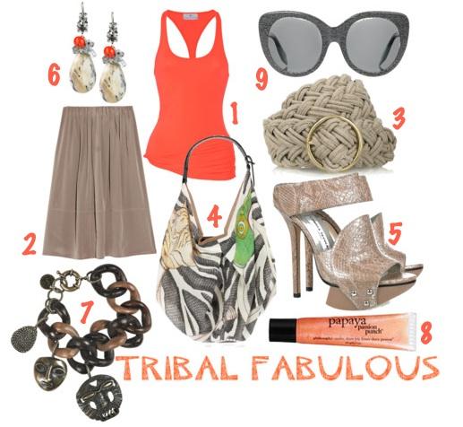 Coral khaki fashion trend spring summer