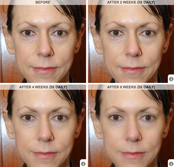 Strivectin virtual makeover lesley scott