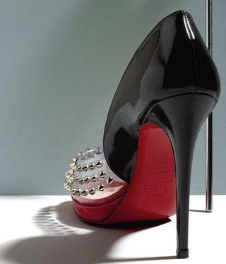 Louboutin heel closeup