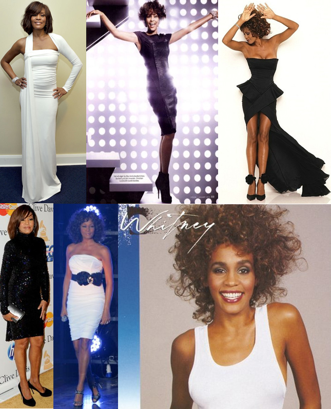 Whitney houston fashion style