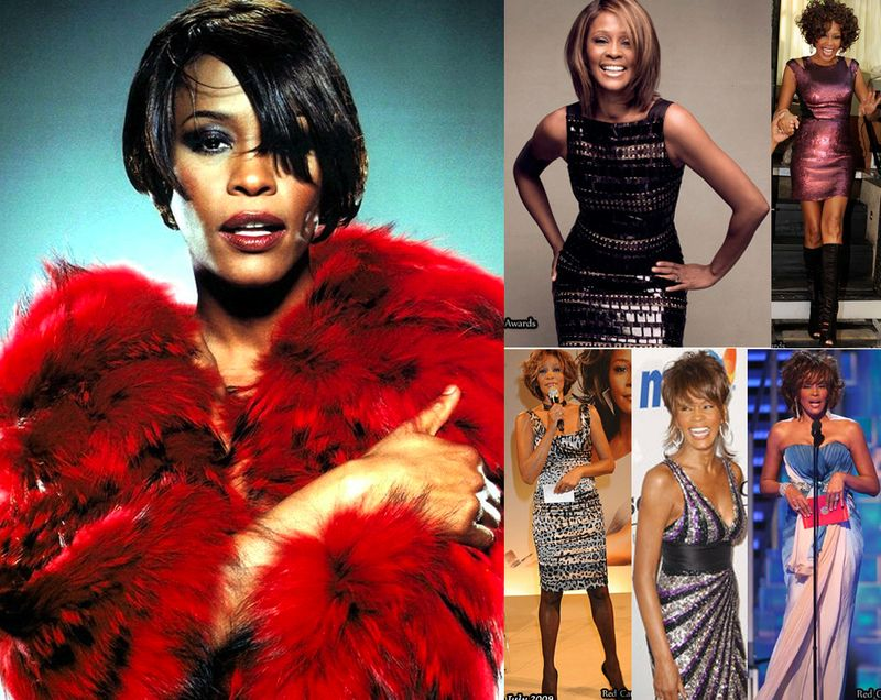 Whitney houston fashion style 1