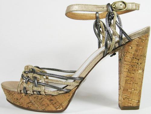 Decades modern vintage 70s shoe