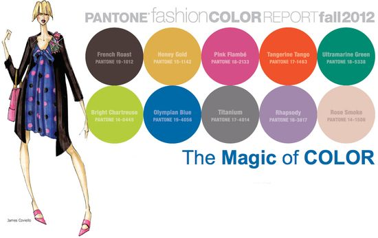 Pantone fashion color colour report fall 2012