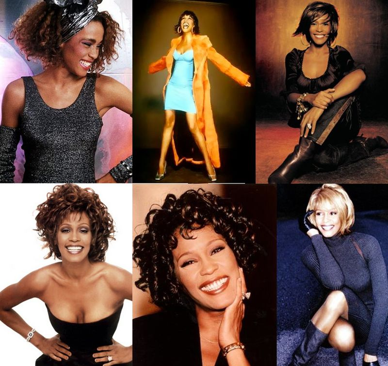 Whitney houston fashion style 2