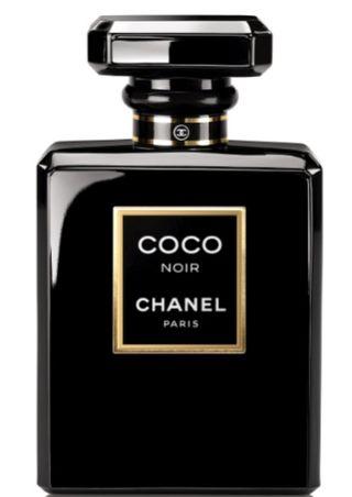 Coco noir chanel fragrance perfume