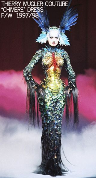 Theirry mugler chimere dress 1997