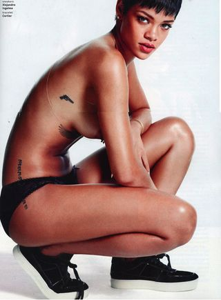 Have quickly Rihanna nude gq realize, what