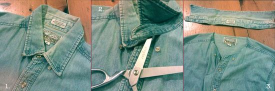 How to make studded denim collar 1 copy