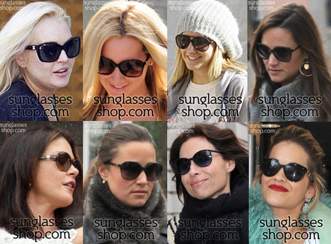 Celebrities chanel sunglasses