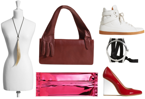 Martin margiela H&M shoes accessories