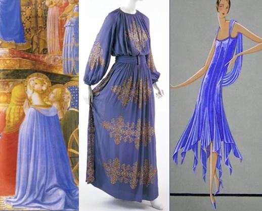 Jeanne lanvin blue
