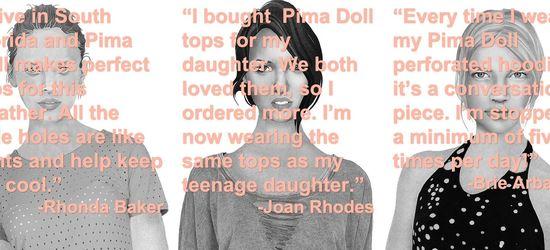 Pima doll looks