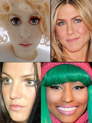 Celebs contact lenses