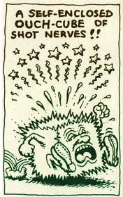 Robert crumb ouch cube