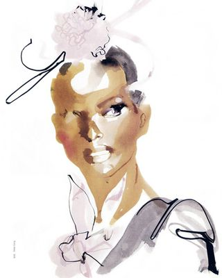 Fashion illustration david downton