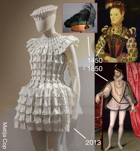 Renaissance futuristic fashion inspiraton