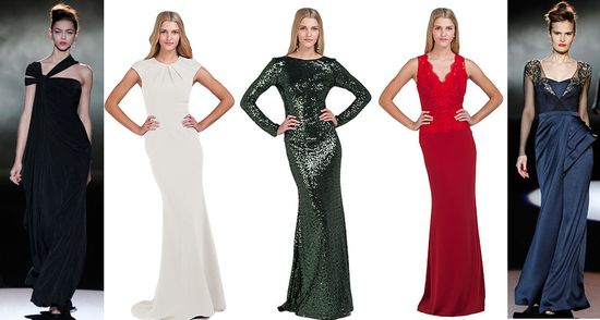 Badgley mischka evening gowns