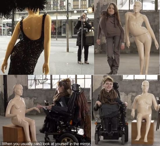 Mannequins disabilities