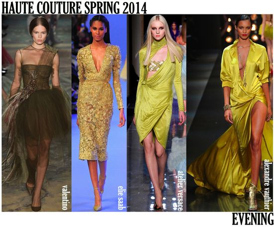 Couture spring 2014 eve looks