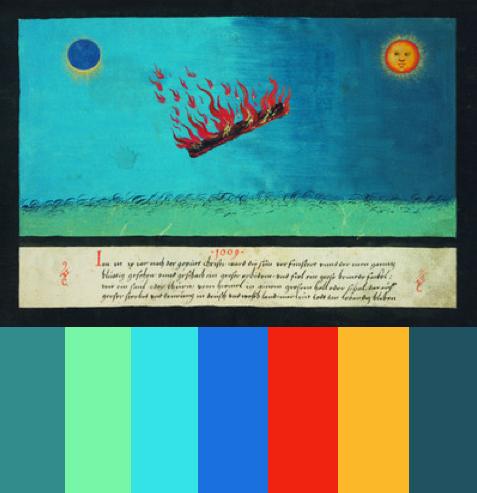 Apocalypse art color palettes 2