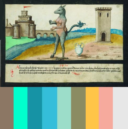 Apocalypse art color palettes 3