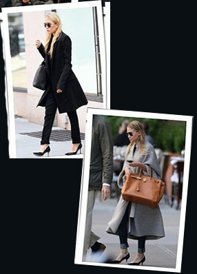 Olsen twins fashion classic style
