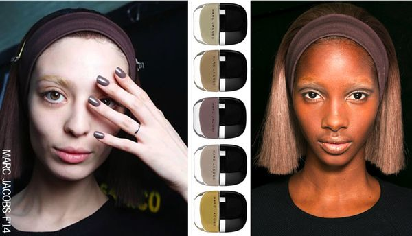 Marc jacobs hair nails beauty fall 2014