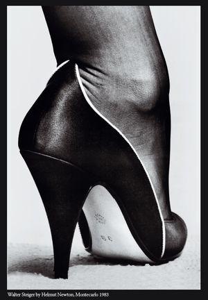 Helmut newton shoe