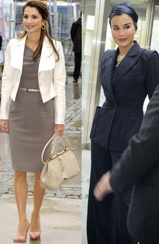 House of cards middle east fashion queen sheikha