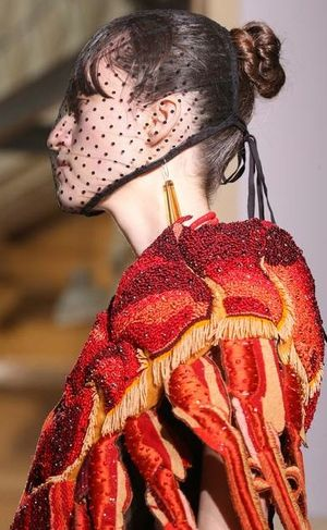 Margiela lobster dress fall 2014
