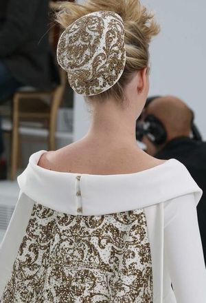 Chanel couture bride fall 2014