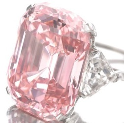 Graff fancy pink diamond ring