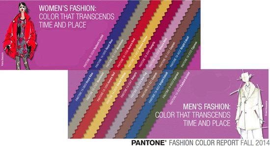 Fall 2012 fashion color colour palette