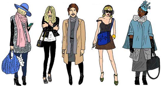 Fashion wardrobe image style identity