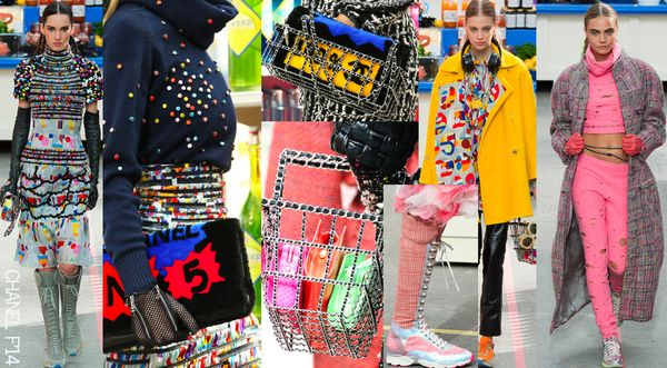 Chanel fall 2014 supermarket